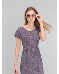Agnes B. - Purple Tutti Dress Multicolored Blue Background - Lyst