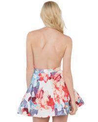AKIRA - Multicolor Til The End Floral Dress - Lyst