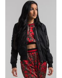 Akira - Black Top Of The Class Bomber - Lyst