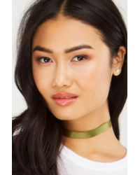 Akira | Multicolor Some To Talk With Satin Choker Set | Lyst