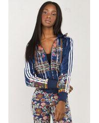 059c1da177 adidas Originals. Women s Blue X The Farm Company Cirandeira Firebird Track  Jacket