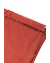 Akira - Red Just Kids Soft Blanket Scarf - Lyst