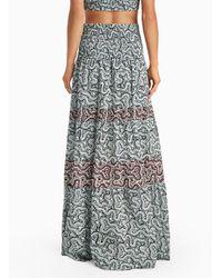 A.L.C. | Multicolor Suarez Skirt | Lyst