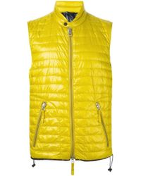 Duvetica | Yellow Padded Jacket for Men | Lyst