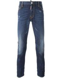 DSquared² | Blue 'long Crotch' Jeans for Men | Lyst