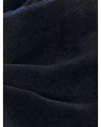 Alexander McQueen - Blue Velvet Grain Bow Tie for Men - Lyst