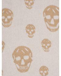 Alexander McQueen - White Big Skull Cape - Lyst