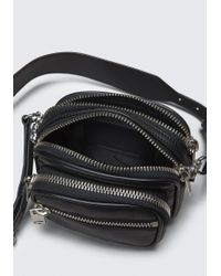 Alexander Wang - Black Attica Crossbody Bag - Lyst