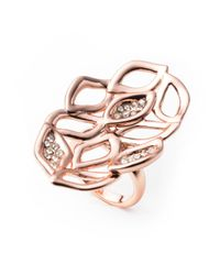 Alexis Bittar - Multicolor Liquid Rose Gold Watery Link Ring You Might Also Like - Lyst
