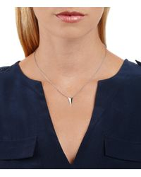 Alexis Bittar - Metallic Silver Pyramid Pendant You Might Also Like - Lyst