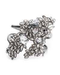 Alexis Bittar | Metallic Liquid Crystal Cluster Cuff Bracelet | Lyst