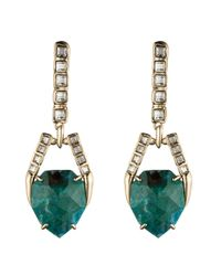 Alexis Bittar - Multicolor Dangling Geo Post Earring You Might Also Like - Lyst