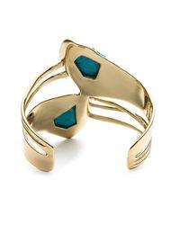 Alexis Bittar | Metallic Jagged Diamond Ribbon Cuff You Might Also Like | Lyst