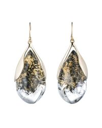 Alexis Bittar - Metallic Suspended Tear Drop Earring You Might Also Like - Lyst