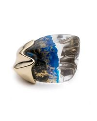 Alexis Bittar - Blue Liquid Cocktail Ring You Might Also Like - Lyst