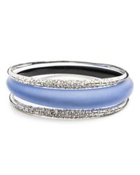 Alexis Bittar | Metallic Crystal Encrusted Triple Stack Bangle Set You Might Also Like | Lyst