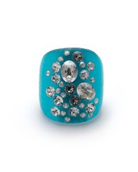 Alexis Bittar | Blue Dusted Block Ring You Might Also Like | Lyst