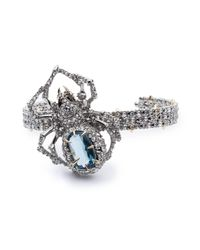 Alexis Bittar - Metallic Crystal Encrusted Spider Cuff Bracelet You Might Also Like - Lyst