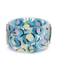 Alexis Bittar | Blue Petal Studded Hinge Bracelet You Might Also Like | Lyst