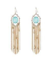 Alexis Bittar - Metallic Crystal And Stone Tassel Earring You Might Also Like - Lyst