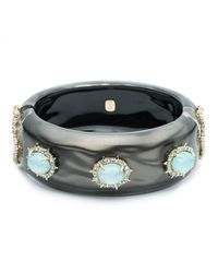 Alexis Bittar | Multicolor Liquid Silk And Stone Hinge Bracelet You Might Also Like | Lyst