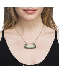 Alexis Bittar - Metallic Abstract Buckle Pendant Necklace You Might Also Like - Lyst