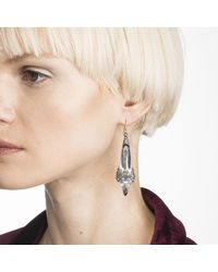 Alexis Bittar - Multicolor Crystal Encrusted Fancy Shield Drop Earring You Might Also Like - Lyst