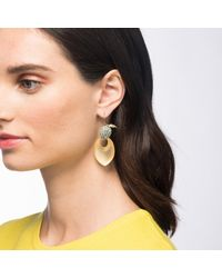 Alexis Bittar - Metallic Crystal Encrusted Lime Drop Earring You Might Also Like - Lyst