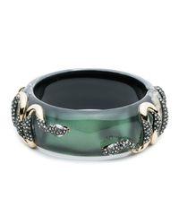 Alexis Bittar - Green Double Snake Hinge Bracelet - Lyst