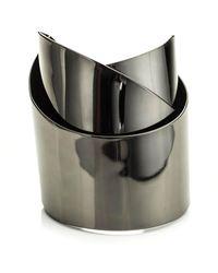 Alexis Bittar | Metallic Gunmetal Ribbon Cuff You Might Also Like | Lyst