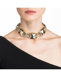 Alexis Bittar - Metallic Crystal Encrusted Liquid Gold Link Soft Necklace You Might Also Like - Lyst