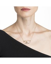 Alexis Bittar - Metallic Liquid Lucite With Diamond Dust Pendant Necklace You Might Also Like - Lyst