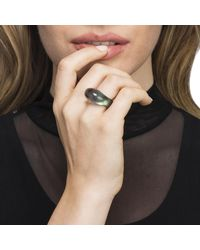 Alexis Bittar - Green Oblong Bubble Ring - Lyst