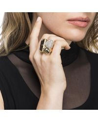Alexis Bittar - Metallic Rocky Metal Cocktail Ring You Might Also Like - Lyst