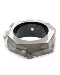 Alexis Bittar - Gray Faceted Bangle Bracelet You Might Also Like - Lyst