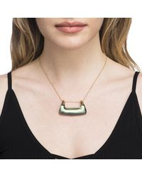 Alexis Bittar | Multicolor Buckle Shape Lucite Pendant Necklace You Might Also Like | Lyst