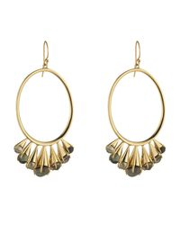 Alexis Bittar - Metallic Arrayed Stone Wire Earring You Might Also Like - Lyst