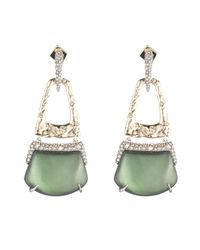 Alexis Bittar - Multicolor Rocky Buckle Post Earring - Lyst