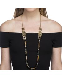 Alexis Bittar - Multicolor Four Stone Beaded Station Necklace You Might Also Like - Lyst