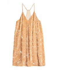 Alice + Olivia - Natural Fierra Tank Dress - Lyst