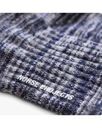 Norse Projects - Blue Bjarki Blend for Men - Lyst