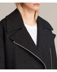 AllSaints - Black Remi Jacket - Lyst