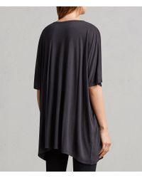 AllSaints - Black Lovers Dreams T-shirt - Lyst
