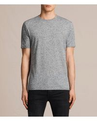 AllSaints | Gray Famera Crew T-shirt Usa Usa for Men | Lyst
