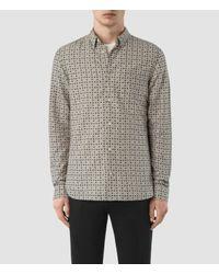 AllSaints | Multicolor Grid Shirt for Men | Lyst