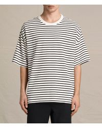 AllSaints | Black Ivan Crew T-shirt for Men | Lyst