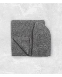 AllSaints | Gray Klymore Scarf And Hat Gift Set for Men | Lyst