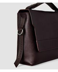 AllSaints - Purple Paradise Shoulder Bag - Lyst