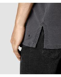 AllSaints - Multicolor Paragon Short Sleeve Crew Sweatshirt for Men - Lyst