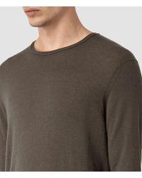 AllSaints - Black Riviera Cashmere Crew Sweater Usa Usa for Men - Lyst